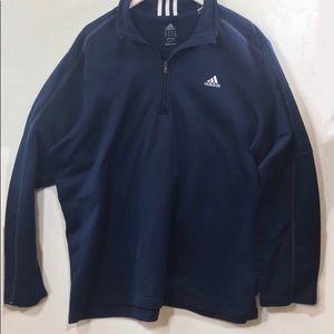 ADIDAS Quarter Zip Pullover 2 XL